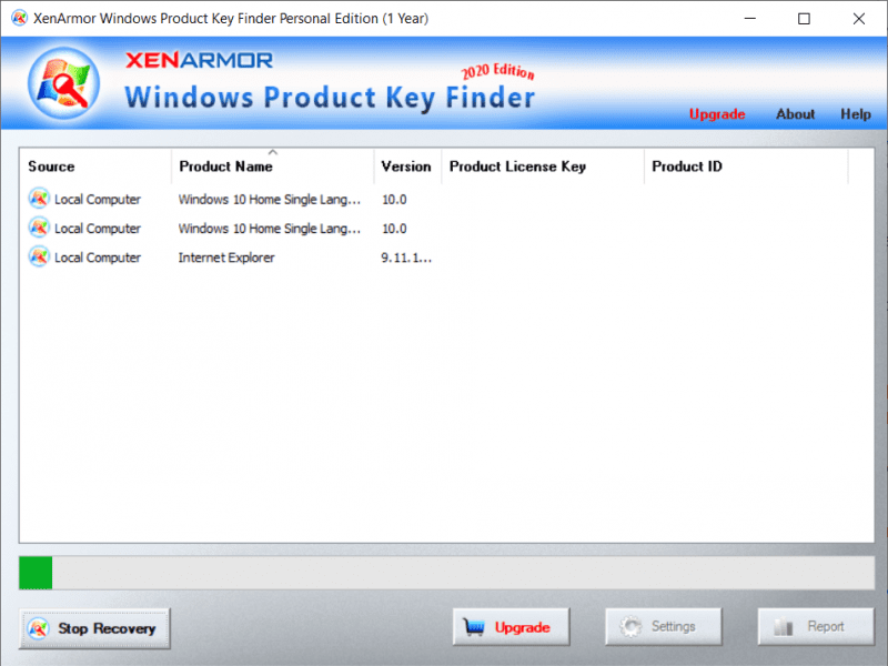[Expired] Windows Product Key Finder Personal 2020 Giveaway (1 Year)