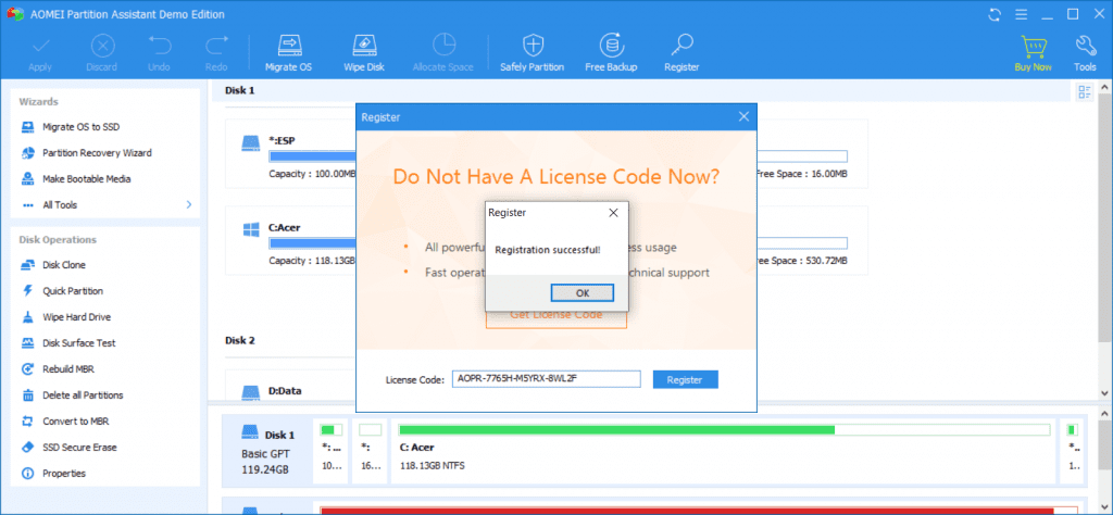 AOMEI Partition Assistant Pro Giveaway